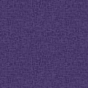 Crosshatch Purple