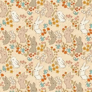 Vintage Bunnies - medium