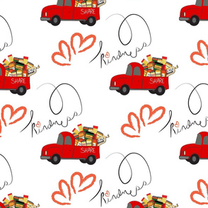 The REAL Food Truck Kindness Share hearts