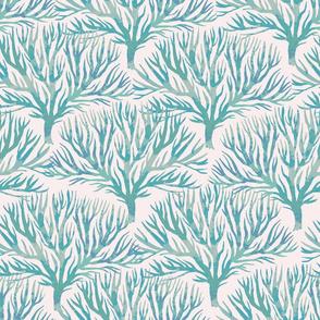 Coral branch Aqua