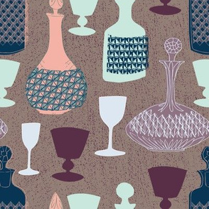 Who's pouring? in vintage palette