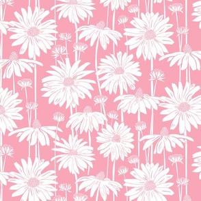 Sunshine Daisy Smaller - pink