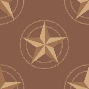 Texas Star Tan Large