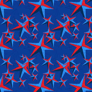 Star storm - navy