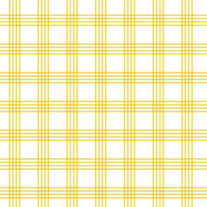 yellow rainbow plaid coordinate