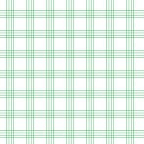 pastel green rainbow plaid coordinate