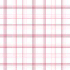 pastel pink plaid coordinate