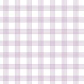 pastel purple rainbow plaid coordinate