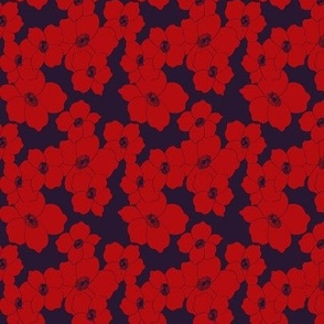 Dogwood Red and Navy small