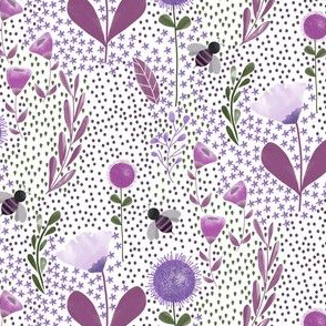 Countryside Floral Purple|Country Girl|Renee Davis