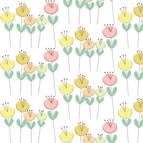 Lollipop Flowers Pastel
