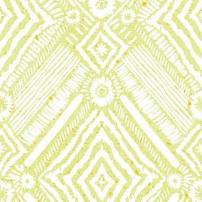 textural diamonds - citron