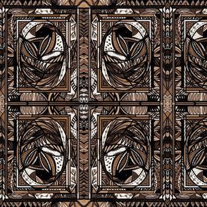 52B_ChocolateBrown_7x9_Small Mirror