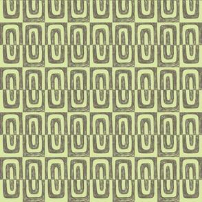"4"" Graphite 1-O soft gray+reef green"