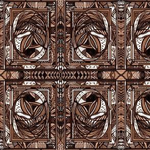 52_Brown_Khaki_7x9_Small Mirror