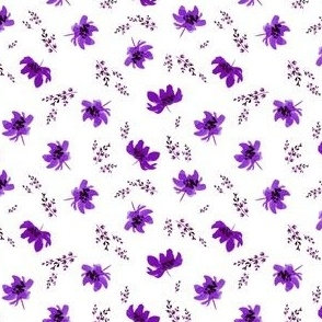 Giacinta Purple Floral