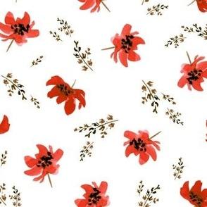 Giacinta Red Floral
