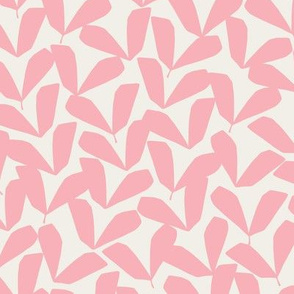 Petite Feuille   Pink + Marshmallow Cream