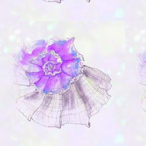 Talia's purple shell