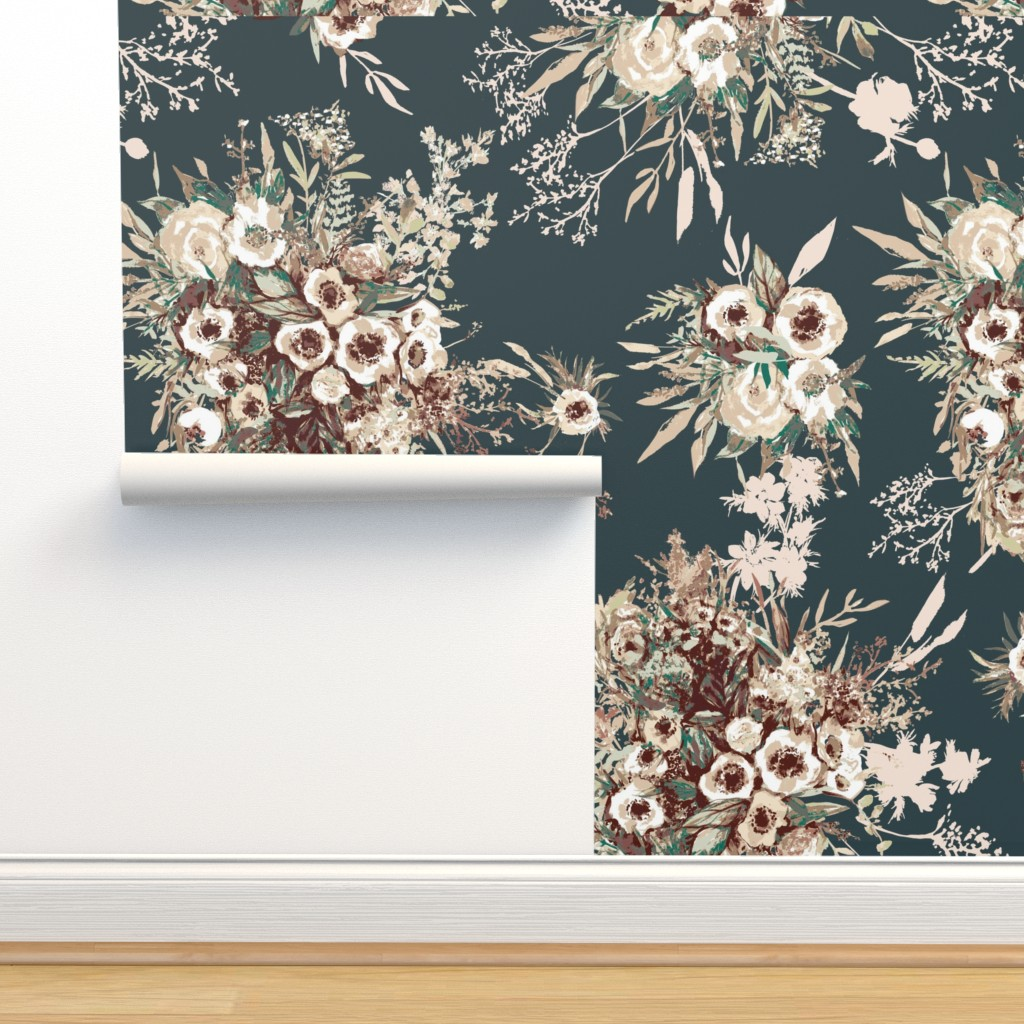 Isobar Durable Wallpaper featuring Under the sea by katarina