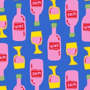 Wine O'Clock - Blue