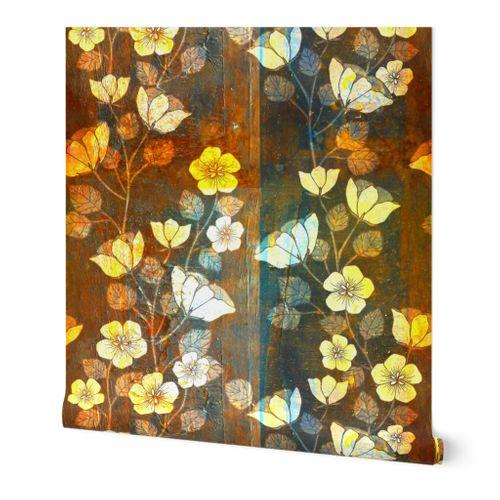 Wabi-Sabi Floral Panels