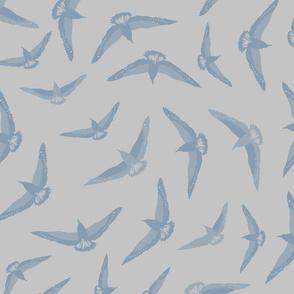 Sea Bird Blue