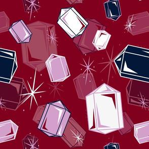 Colorful Quartz Crystal Points