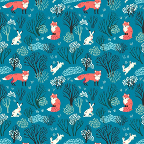 Hares and foxes