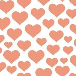 Dusty Pink Hearts