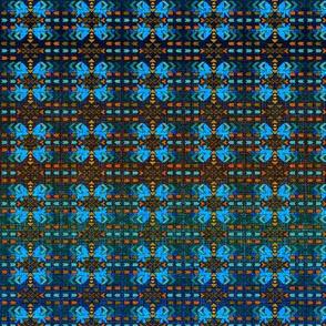 7Southwestern Tiny Blue Pattern