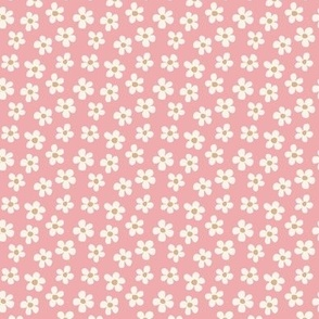 Horse Party Pink Floral