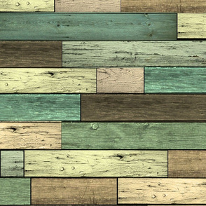 Earthy Wood planks Large