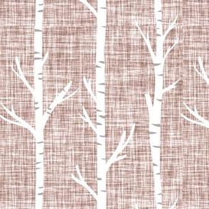 44-1 linen birch trees