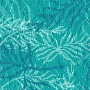 tropical faux stucco_blue