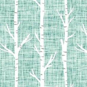 summit linen birch trees