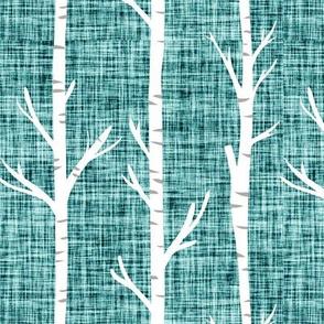 fjord linen birch trees