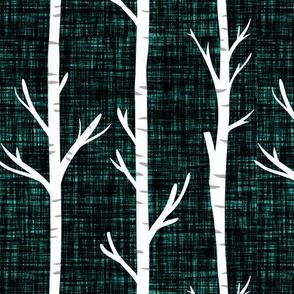 himalaya linen birch trees