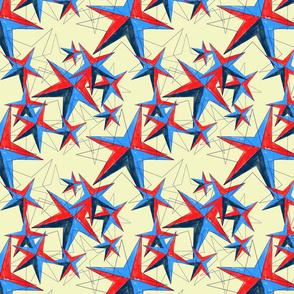 Star storm- linen