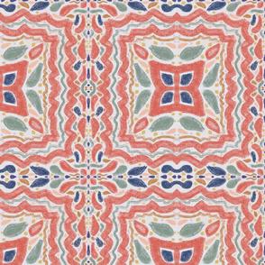 Bohemian Earth Tones Mosaic Tiles