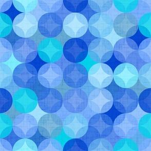 Mint and pine green bandana medium scale