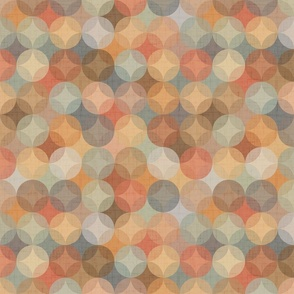 Pine mint abstract geometric