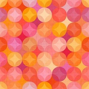 Mint green abstract geometrics mall scale