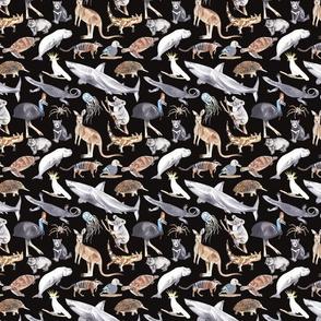 All Australian Animals Dark