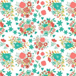 Mini Ditsy Flower Theme