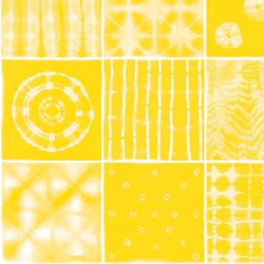 Shibori mix yellow