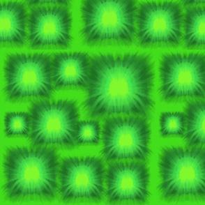 Lg. Green Burst Tie Die by DulciArt, LLC