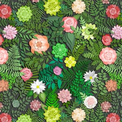 Botanic Papercut Garden