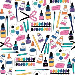 Art Supplies Multicolor
