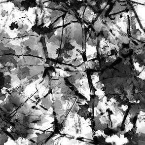 Fallen Branches White